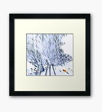 Amorphous flight Framed Print