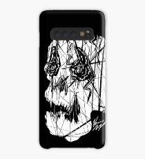 Slashed Skull Case/Skin for Samsung Galaxy