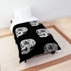 Slashed Skull Comforter