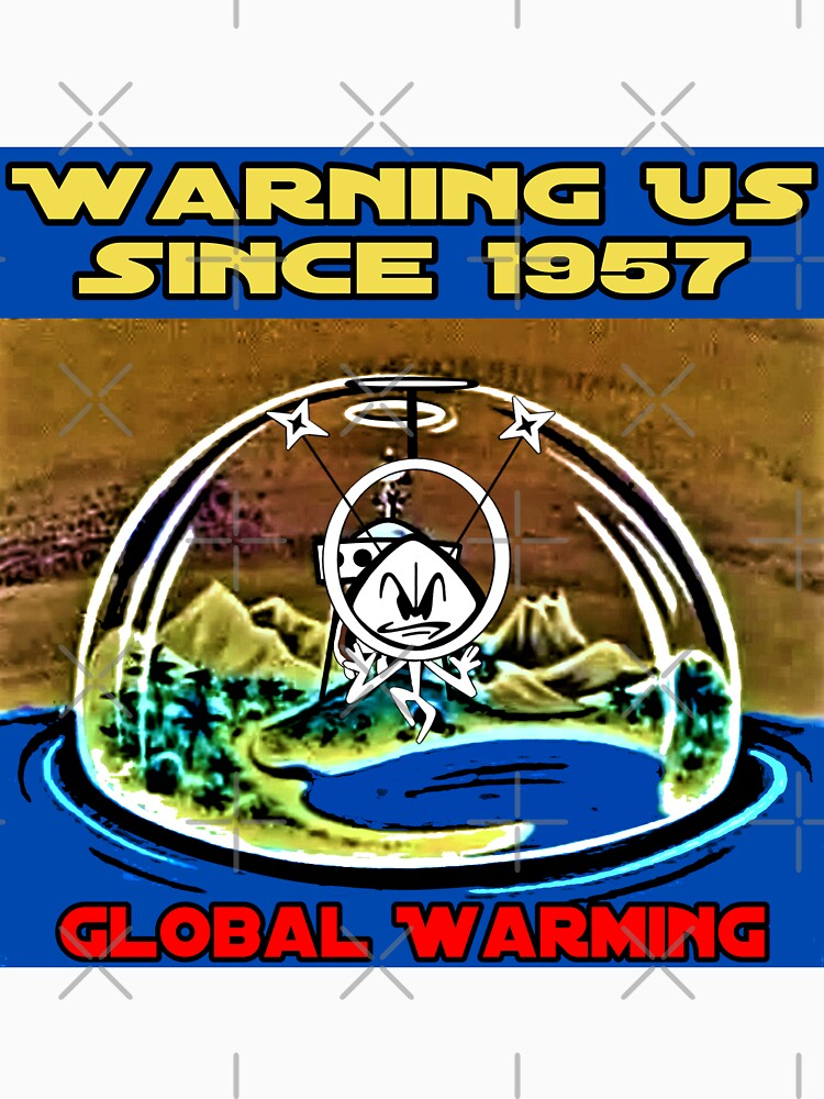 Global Warming with Colonel Bleep ! Warning US since 1957 . by michaelrodents