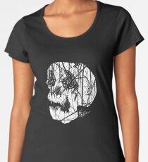 Slashed Skull Premium Scoop T-Shirt
