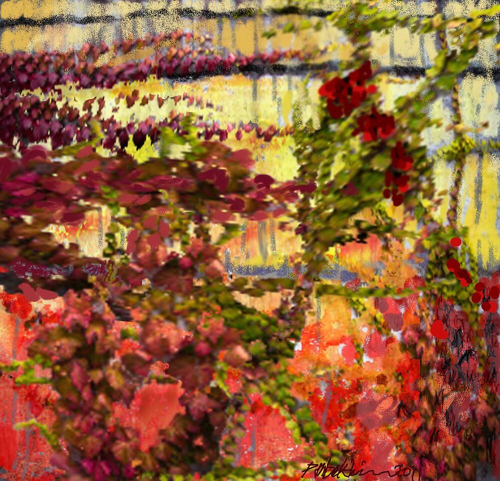 """Garden Wall"" by Patrice Baldwin"