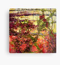"""Garden Wall"" Metal Print"