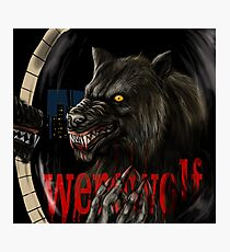 werewolf mirror  Photographic Print