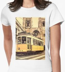 Electrico Prazeres Women's Fitted T-Shirt