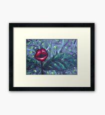 Floral Hellscape IV Framed Print