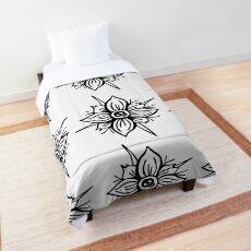 Flower Skull Comforter