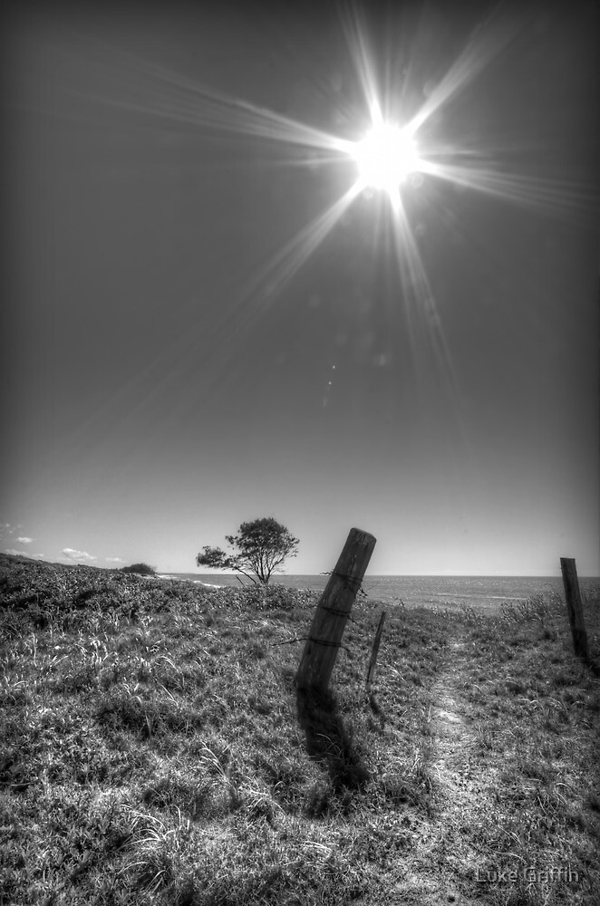 Leaning Post by Luke Griffin
