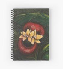 Floral Hellscape V Spiral Notebook