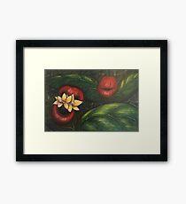 Floral Hellscape V Framed Print