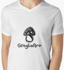 GroglioArt Mushroom V-Neck T-Shirt