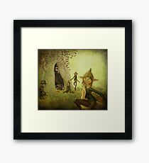 The Brownies Framed Print