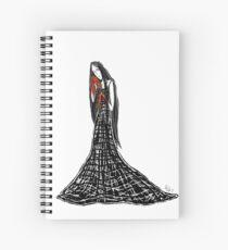 Madame Whyyy- Princess Monster Hands Spiral Notebook
