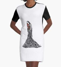 Madame Whyyy- Princess Monster Hands Graphic T-Shirt Dress