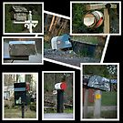 A Mailbox Collage........... by Larry Llewellyn