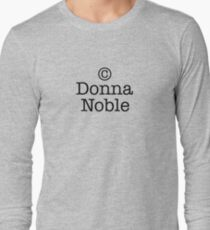 Copyright Donna Noble Long Sleeve T-Shirt