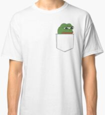 Sad Pocket Pepe Classic T-Shirt