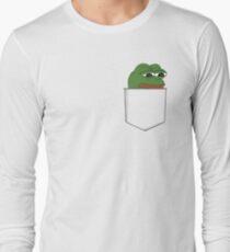 Sad Pocket Pepe Long Sleeve T-Shirt