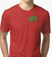 Camiseta de tejido mixto Sad Pocket Pepe