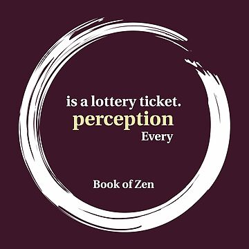Quote About Perception & Reality by bookofzen