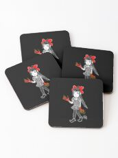 Little Princess Monster Hands Coasters