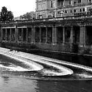 river Avon, Bath. by geof