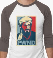 PWND - Osama Bin Laden Men's Baseball ¾ T-Shirt