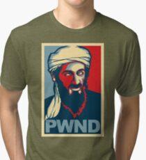 PWND - Osama Bin Laden Tri-blend T-Shirt