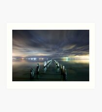 Highway to Heaven - Clifton Springs Victoria Art Print