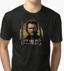 Clint Eastwood - The Outlaw Josey Wales Tri-blend T-Shirt