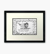 Seal Power Framed Print