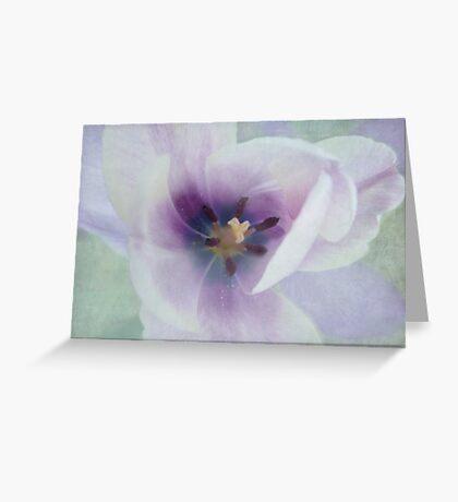 Inside Tulip Greeting Card