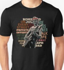 Mark's greatest hits - retro Dire Straits Slim Fit T-Shirt