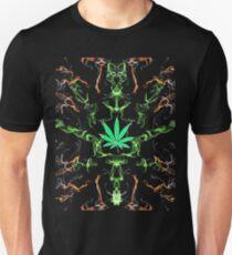 Marijuana Leaf Psychedelic pattern T-Shirt