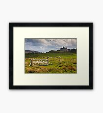Glengorm castle on a brooding May day Framed Print
