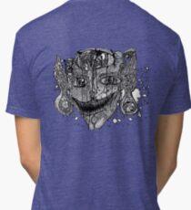 Shroom Imp B&W redone Tri-blend T-Shirt