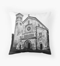Italianate Church in Wilton Throw Pillow