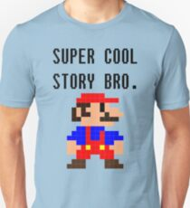 Super Cool Story Bro. (Mario) T-Shirt