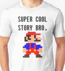 Super Cool Story Bro. (Mario) Unisex T-Shirt