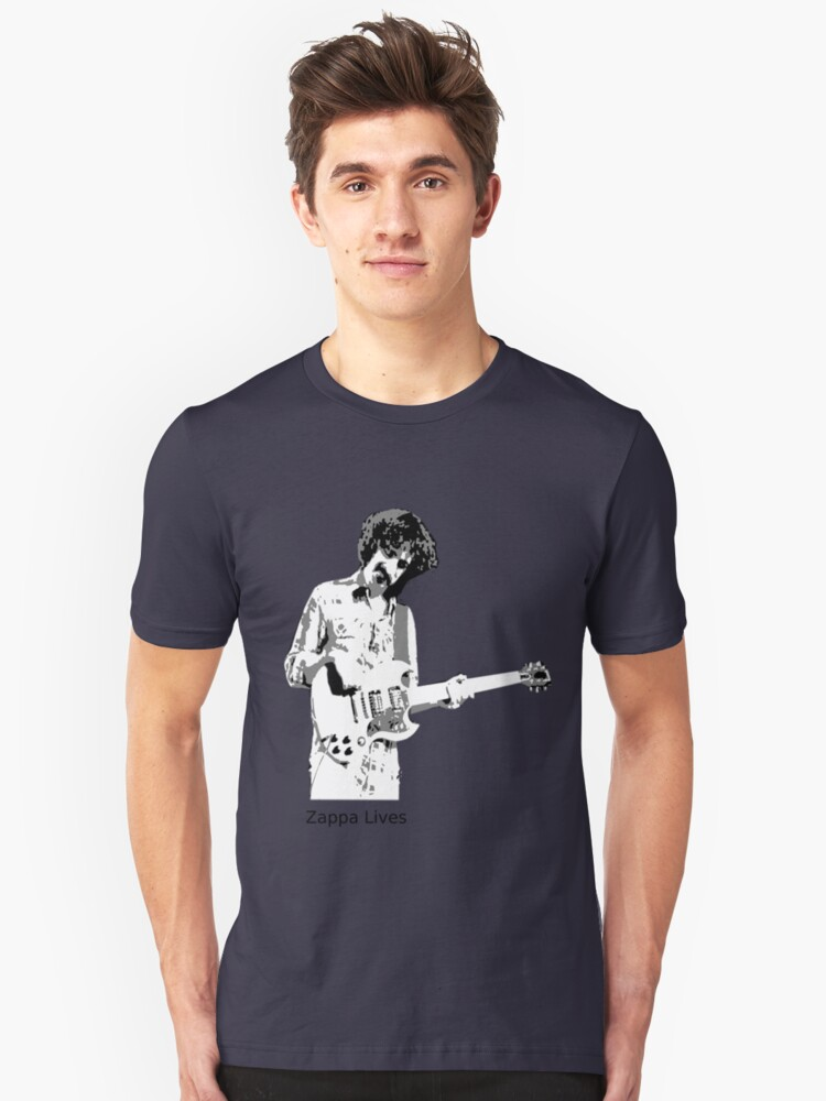 Zappa Lives Unisex T-Shirt Front