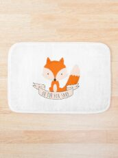 Oh For Fox Sake Bath Mat