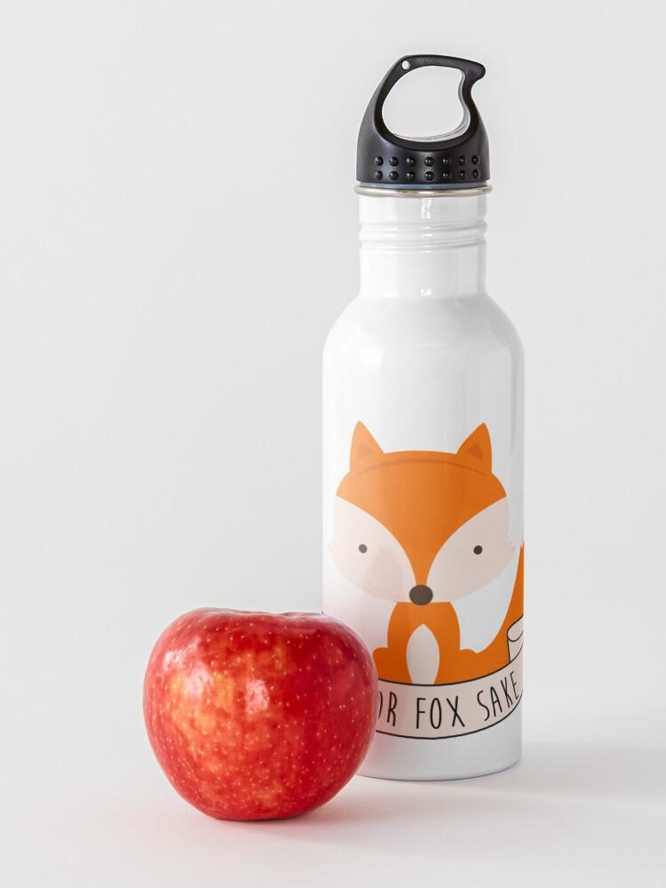 Alternate view of Oh For Fox Sake Water Bottle