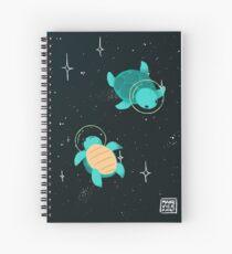 Space Turtles Spiral Notebook