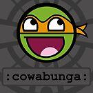 «Cowabunga Buddy Squad: Michelangelo» de Cowabunga