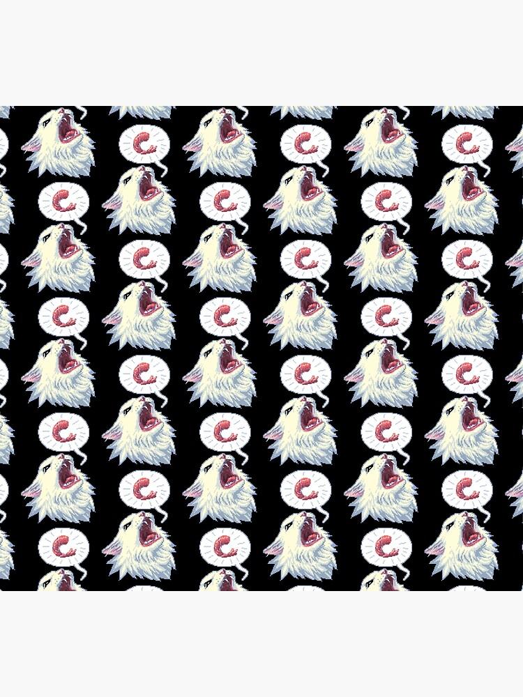 8-bit Shrimpin' Thurston the cat by Thurstonwaffles