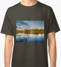 Roath Park Reflections HDR Classic T-Shirt