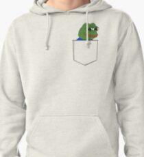 Happy Pocket Pepe Pullover Hoodie