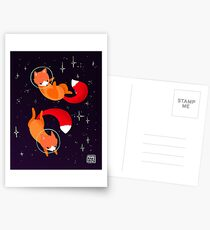 Space Foxes Postcards