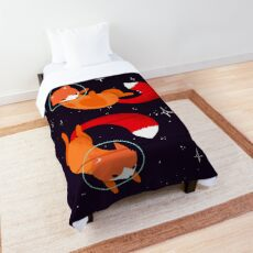 Space Foxes Comforter