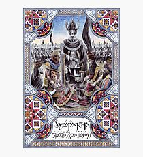 King Hyarmendacil I of Gondor Photographic Print